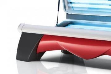 Solarium Proline 28/1 Combi Lounge Red Hapro - 2